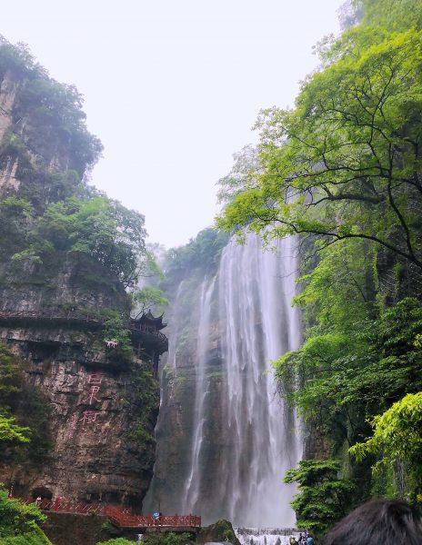 三峡大瀑布半日游