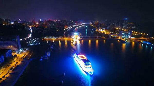 宜昌长江夜游