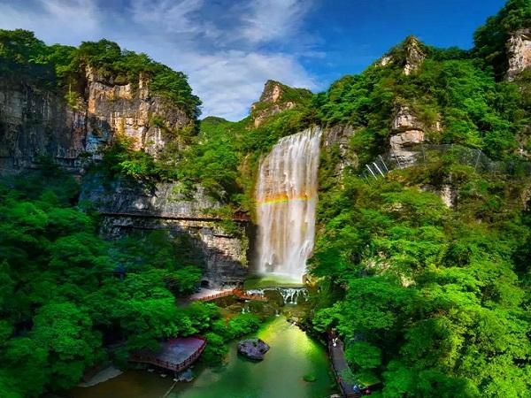 三峡大瀑布一日游
