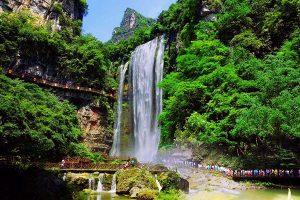 宜昌东站到三峡大瀑布半日游