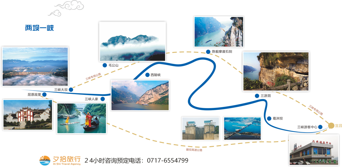 国庆两坝一峡价格